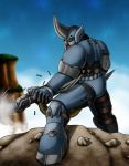 Commission_Tank the Rhino by Evil-Rick