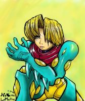 Metroid Fusion Samus: Teeth by Tanooki128