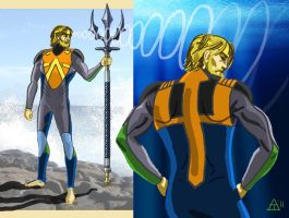 Aquaman Redesignb by toekneearrows