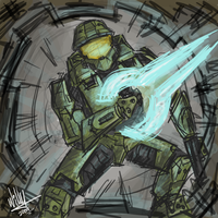Masterchief speedy by Willatorx