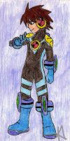 CF Rockman - Without Helmet by Raichugirl62