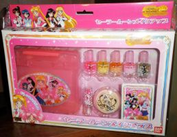 Sailor Moon World Travel set by OWcollection