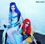 Sally and Emily (2) by Moony-Cosplay