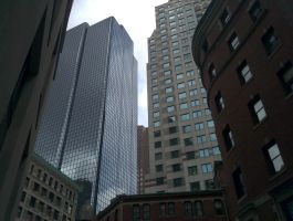 Downtown Boston, Summer 2012 by jacka1