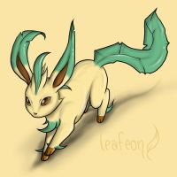 Leafeon by fanchielover15