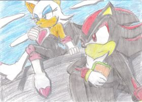 Rouge and Shadow by JCMX