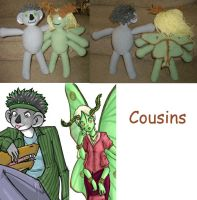Crochet Cousins by HookedonPlushies