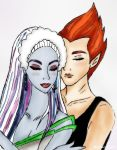 Perfect couple by Maryka-di-gold