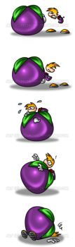 Rayman and his Plum Problems by BechnoKid