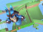 Lucario believes he can fly by LucarioSkyWalker508