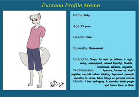 My Fursona Meme by Kurvos