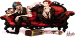 Shanks and Buggy signature by didimakia