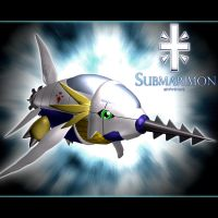 Submarimon 3d by me by EAA123