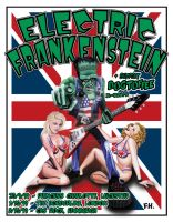 Electric Frankenstein Poster1 by firehazzard-designs
