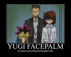 Yugi Facepalm by ironheartwriter