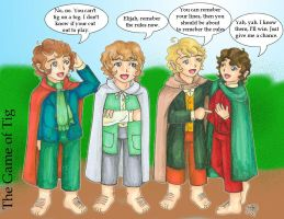 The Game of Tig by hobbit-katie
