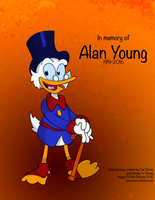 Uncle Scrooge McDuck by BobDrawsThings