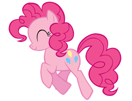 Pinkiepie Walk left by ABadCookie