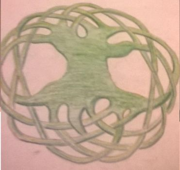 Celtic tree of life by Shadle1