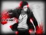 [K Project] - Suoh Mikoto - Red King [HOMRA] by ChromeFalcon