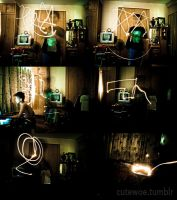 Light Drawing Practice by ryanwell