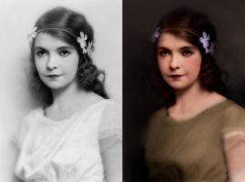 Lillian Gish Retouched by Ksottam