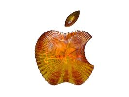 Apple Amber Logo by Lolofson by lolofson