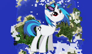 Vinyl Scratch Minecraft by TheUnknown644