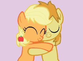AJ and Braeburn by StarTheSinger267