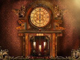 CoTo: Grandfather Clock Puzzle by Ethereal-Mind