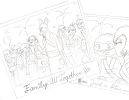 Leorai Week 5: Family All Together :WIP: by kuku88