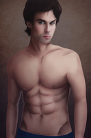 Damon Salvatore by MyNightSoul