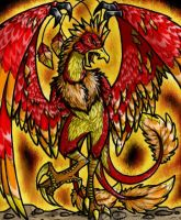 The Phoenix Raptor by VazlaKat