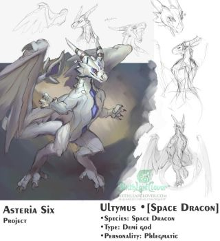 Asteria Six - Ultymus by The-SixthLeafClover