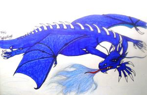 Saphira Brightscales by SapphyreEdge72395