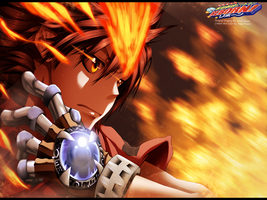 Katekyo Hitman Reborn! - Tsuna + Video + lineart by HikariNoGiri
