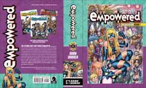 EMPOWERED DELUXE's front + back covers by AdamWarren