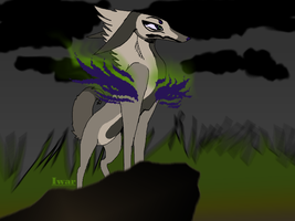 Fakemon grass/ghost by iWarblood