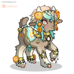 Opal/Marigold Goatlings entry by Costly