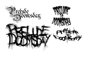 Prelude To Doomsday Logo Ideas by thelast1uthinkof
