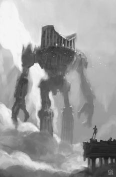 Shadow of the colossus renaissance by edsfox