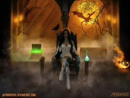 The Throne Of A Witch by JayGraphixx
