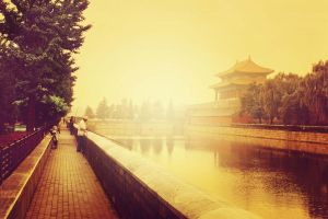 Outside the Forbidden City phishers by sunny2011bj