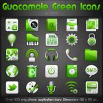 Guacamole Green Icons by CrazEriC