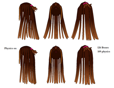 MMD Dreads DL by chfgwuzhere