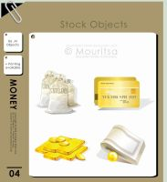 Object Pack - Money by MouritsaDA-Stock
