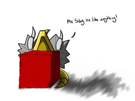 G1 Slag Cube by Shirobutterfly