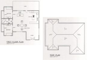 Small House Floor_Roof Plans by A-han-343