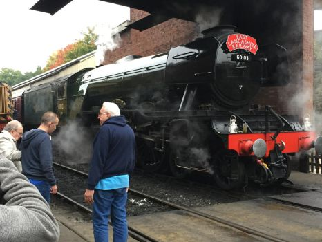 Flying Scotsman at Bolton Street Station by Crystal-Eclair