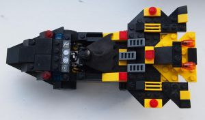 Lego Batmobile 3 by BevisMusson